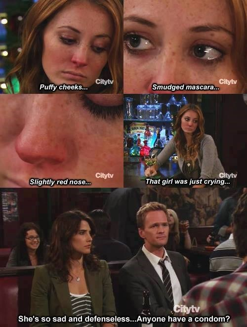 Barney Notices the Details Every Time