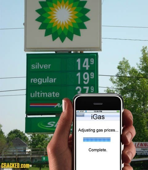 Adjusting Gas Prices