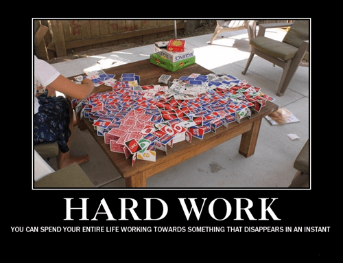 hard work,house of cards,funny,pointless