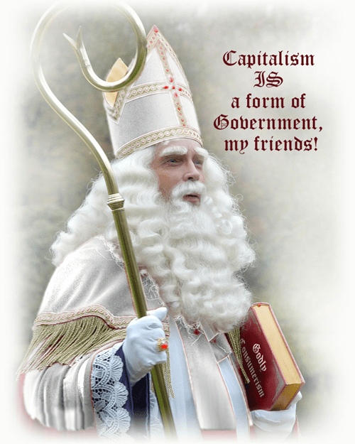BREAKING NEWS: POPE FRANCIS DEPOSED BY POPE SINTERKLAAS