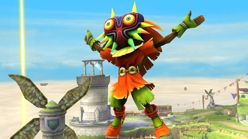 Majora's Mask and Skull Kid to Make an Appearance in the Upcoming Super Smash Bros.