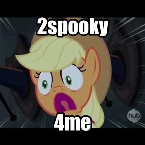 Aghast Applejack