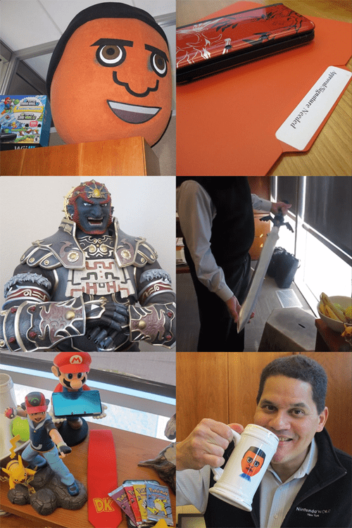 This is What Reggie's Office Looks Like