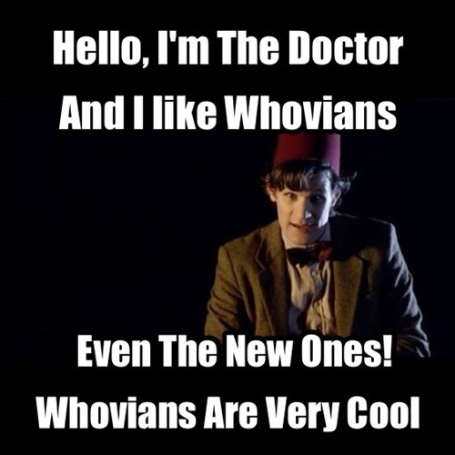 Thanks Doctor! We Think You're Very Cool Too