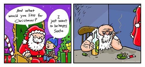 Angsty Santa