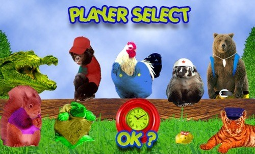 Diddy Kong Racing With Real Animals
