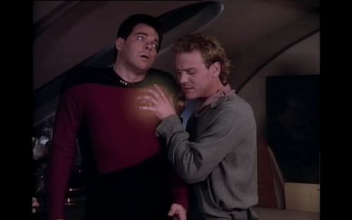Star Trek,TNG,Riker,personal bubble