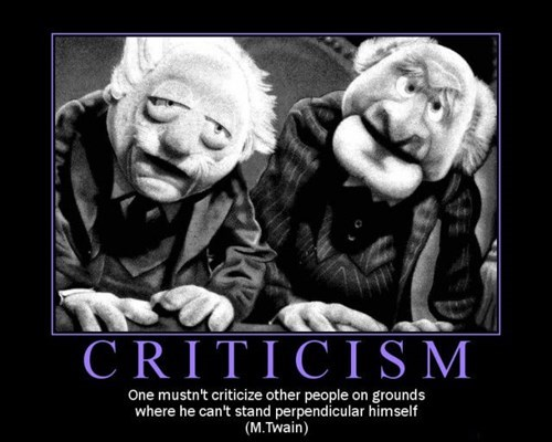 Everyone Hates the Critics