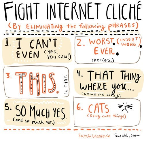 Fight Internet Cliché!