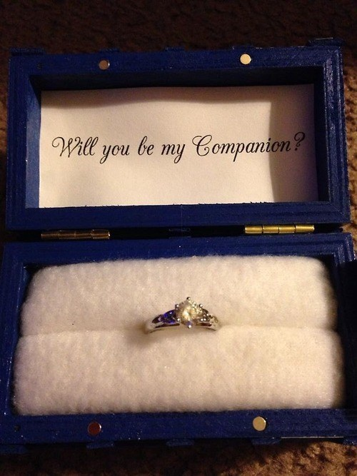 doctor who,companion,engagement ring,wedding proposal