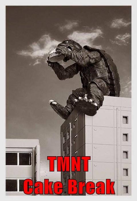 TMNT                                                 Cake Break