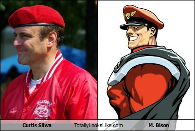 Curtis Sliwa Totally Looks Like M. Bison