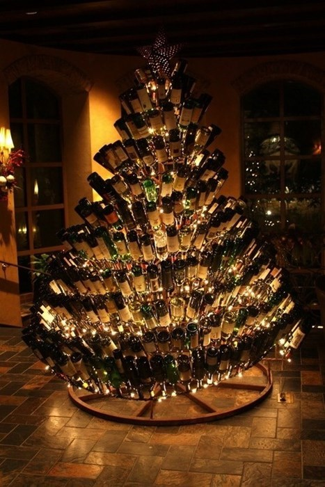 The Ultimate Wino's Christmas Tree