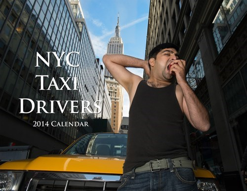 Touché of the Day: NYC Taxi Drivers Pinup 2014 Calendar