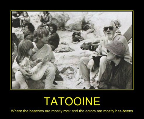 Aww... Poor Tatooine