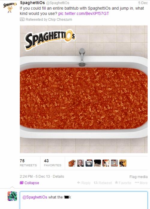 Spaghetti-Os... Are You Okay?