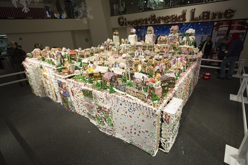 Check Out the World's Largest Gingerbread Village!