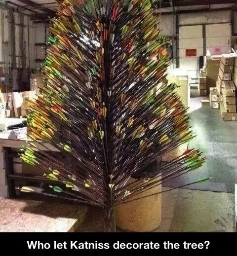 christmas trees,hunger games