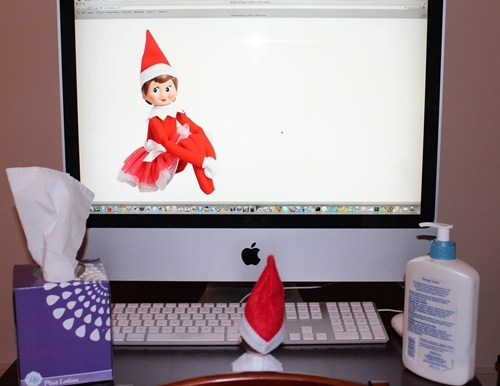 The Elf on the Shelf Would Appreciate if You Knocked Next Time
