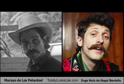 Macoyo de Los Petardos! Totally Looks Like Euge Hutz de Gogol Bordello
