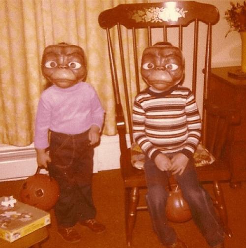 costume,ET,halloween,kids,vintage,wtf