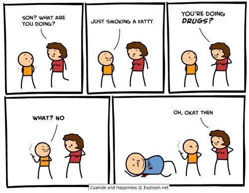 drugs,comics,puns