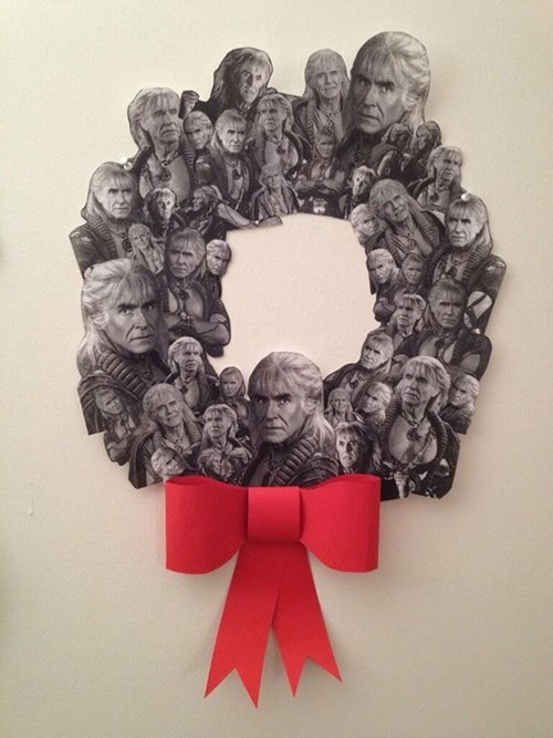 Who Needs a Regular Wreath When You Can Have the Wreath of Khan?