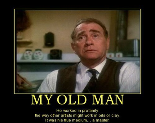 Christmas Story,funny,old man,swearing