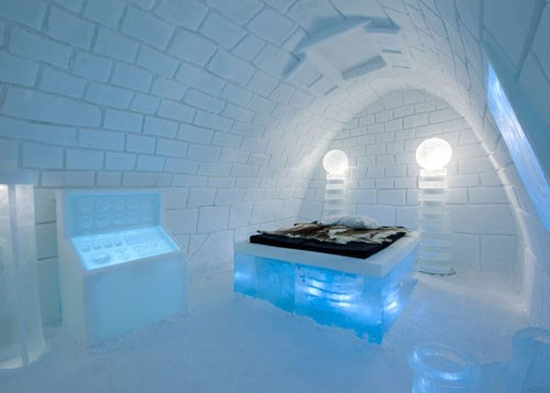 The Ice Hotel Gets a Frankenstein Makeover This Year