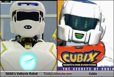 NASA's Valkyrie Robot Totally Looks Like Cubix