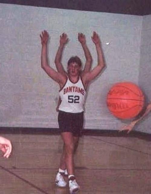 basketball,photobomb