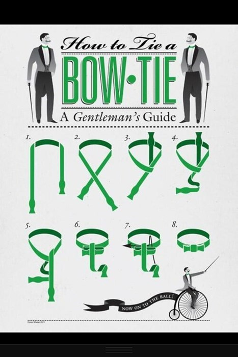 How to Gentlemen Up Your Bow Tie Game!
