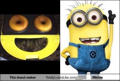 minions,donuts,despicable me,totally looks like