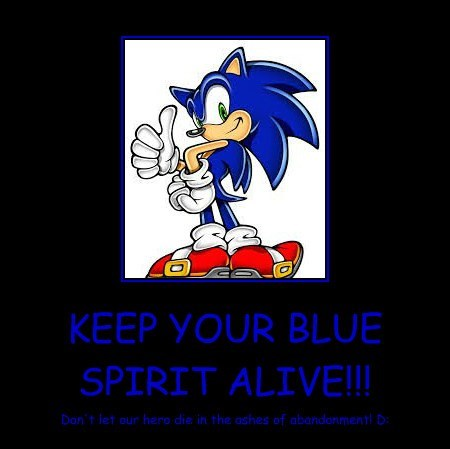 KEEP YOUR BLUE SPIRIT ALIVE!!!