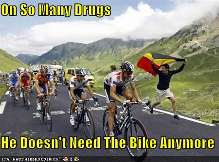 On So Many Drugs  He Doesn't Need The Bike Anymore