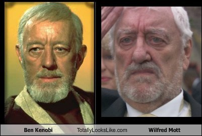 Ben Kenobi Totally Looks Like Wilfred Mott