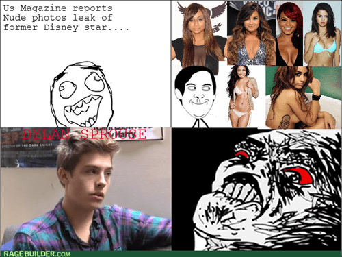 leaked photos,tabloids,rage,dylan sprouse