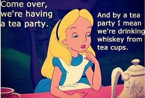 Now That's a Fancy Tea Party