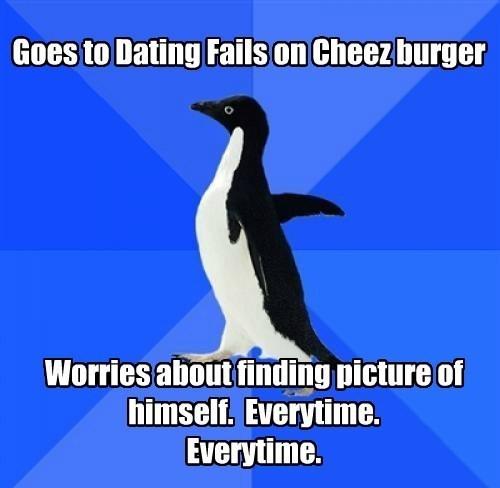 socially awkward penguin,whoops,meta