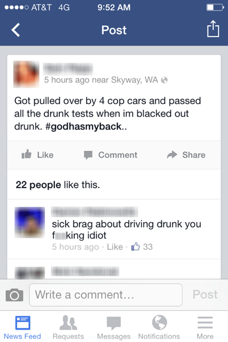 If You Think Your Friends Will Think You're a Badass for Driving Drunk...