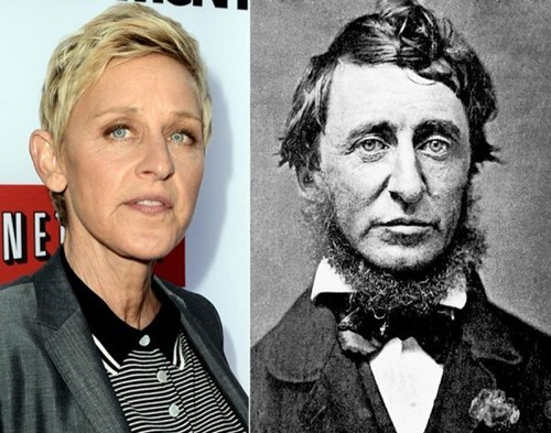 totally looks like,old photos,ellen degeners