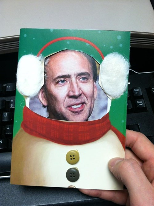 Making a Christmas Card This Season? Great! Here's Your Competition...