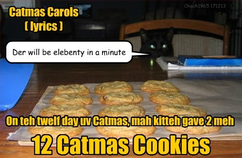 Catmas Carols  ( lyrics )