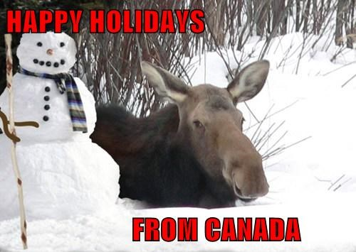 HAPPY HOLIDAYS                         FROM CANADA