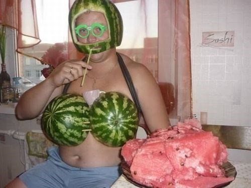 fashion,summer,watermelon,food,g rated,poorly dressed