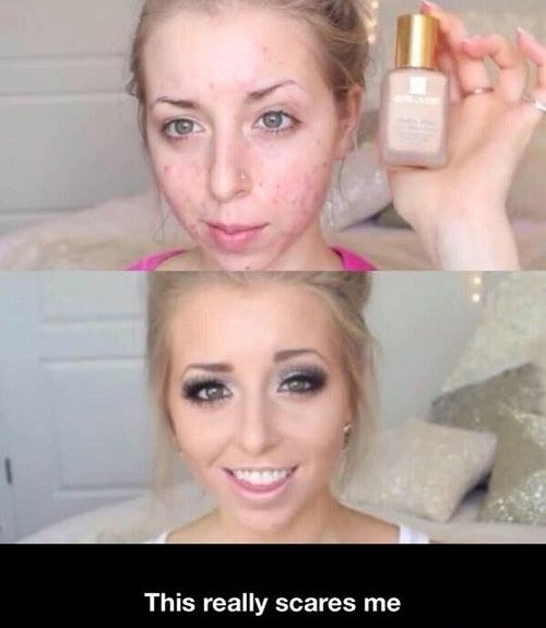 Makeup is Worse Than Photoshop