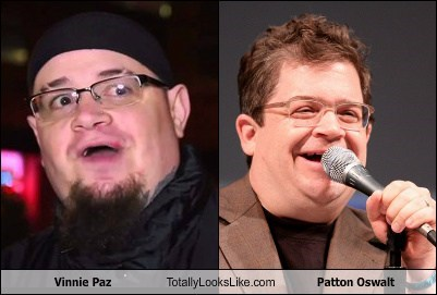 Vinnie Paz Totally Looks Like Patton Oswalt