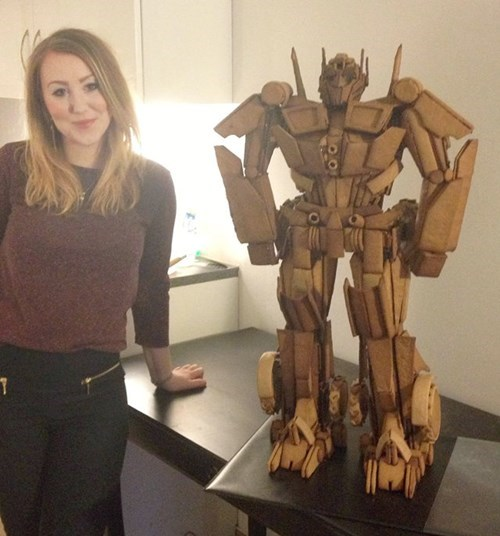 Gingerbread Optimus is the Geekiest Celebration of Holiday Confections