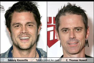 c-thomas-howell,totally looks like,johnny knoxville