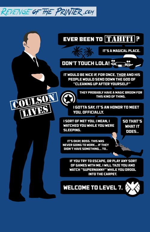 Agent Coulson Quotes